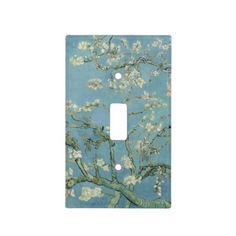 Almond Blossoms by Vincent Van Gogh Light Switch Plate Cover