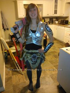 Homemade Skyrim Video Game Costume... Coolest Homemade Costume Contest