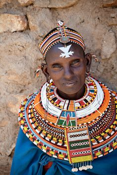 ˚Samburu woman - Kenya
