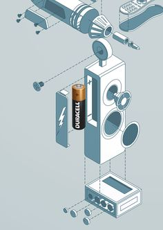 Print campaign for Duracell.