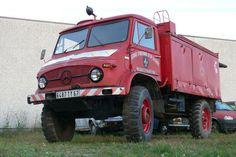 Mercedes-Benz Unimog 404 Feuerwehr in Friesenheim