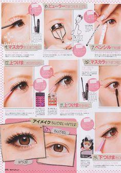 Basic Smokey Eyes Gyaru Pt.2