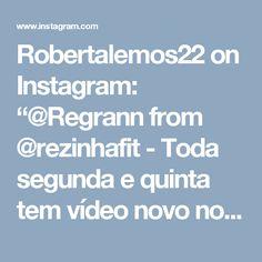 """Robertalemos22 on Instagram: """"@Regrann from @rezinhafit -  Toda segunda e quinta tem vídeo novo no canal YouTube.com/RezinhaFitOficial, a receita hoje é Panini LowCarb…"""""""