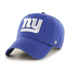 a6a9d5c824c New York Giants Rebound Clean Up Royal 47 Brand Adjustable Hat - Detroit  Game Gear