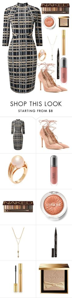 """""""Rose water"""" by tigerlily789 ❤ liked on Polyvore featuring Phase Eight, Gianvito Rossi, Poiray Paris, Revlon, Urban Decay, Clinique, Rebecca Minkoff, Smith & Cult, Yves Saint Laurent and Burberry"""