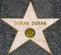 Duran Duran- their well deserved star on the Hollywood walk of fame The Hollywood Bowl, Hollywood Walk Of Fame, Hollywood Stars, Great Bands, Cool Bands, Roger Taylor Duran Duran, 80 Bands, Fab Five, Simon Le Bon