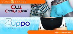 Cartoon Wear y Zuppo en clickandbrands.com