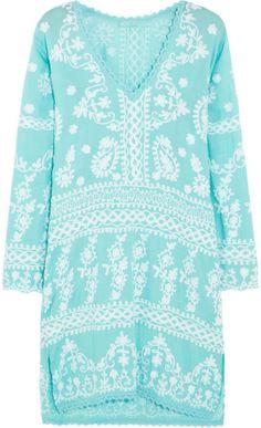 Love this: Natalie Embroidered Voile Kaftan MELISSA ODABASH dressmesweetiedarling