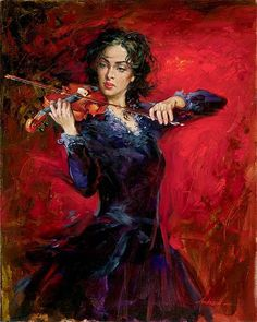 Unchained passion - Music painting painting by Andrew Atroshenko. - Pinterest