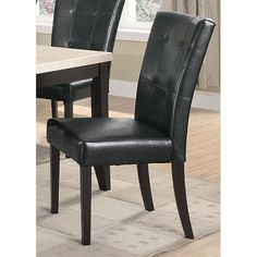 Coaster Furniture 102772 Anisa Dining Side Chair, Set of 2   Bellacor Tufted Dining Chairs, Slipcovers For Chairs, Dining Chair Set, Dining Room, Dining Area, Dining Sets, Coaster Furniture, Dining Furniture, Empire Furniture