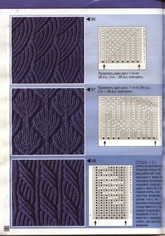 Strickmuster - stricken - Best Picture For Knitting Techniques stitches For Your Taste You are looking for something, and it is going to tell you exact Knitting Stiches, Cable Knitting, Knitting Charts, Knitting Needles, Crochet Stitches, Hand Knitting, Knit Crochet, Knitting Patterns, Crochet Double