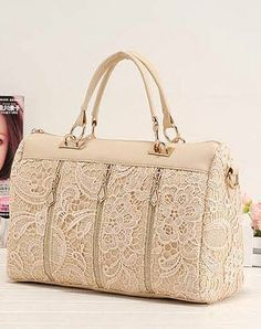Cheap leather messenger bag, Buy Quality bag ladies directly from China bag tote Suppliers: Handbags Fashion Women PU Leather Messenger Bag Tote Shoulder Bag Lady Socialite Lace Handbag para mujer Fashion Handbags, Tote Handbags, Purses And Handbags, Fashion Bags, Women's Fashion, Fashion Women, Vintage Handbags, Black Handbags, Lace Bag