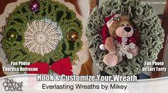 Everlasting Crochet Wreaths - The Crochet Crowd