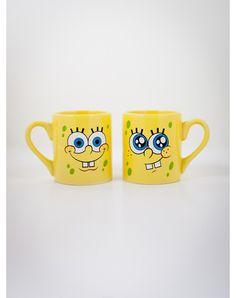 SpongeBob 14 oz. Glitter Mugs 2Pk