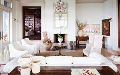 Ideas para decorar el salón: Un aparador detrás del sofá  |  DECOFILIA.com