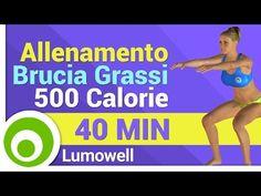 Allenamento Brucia Grassi - Brucia 500 Calorie in 40 Minuti - Cardio HIIT Workout - YouTube