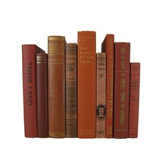 Brick Orange and Brown Decorative Books, Vintage Books, Home Decor, House Warming gift, gift for book lover, Photo Props , Wedding Decor  #DecadesofVintage #decorativebooks #vintagebooks #homedecor #interiordesign #booksbycolor #oldbooks #bookshelfdecor #bookhomedecor #vintagebookdecor