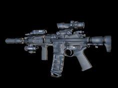 HK416C by LukeMemonic | Realistic | 3D | CGSociety