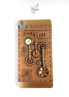 Steampunk Sony Xperia Z3 Case. Android Phone Case. Steampunk Case. Steampunk…