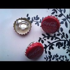 Coca Cola Ring made by Fairypants in - Made In Uk, Coca Cola, Jewelry Making, Jewellery, Ring, How To Make, Coke, Jewelery, Rings