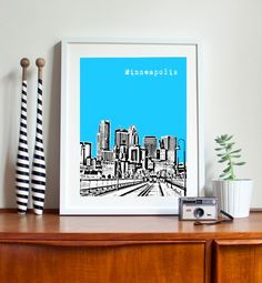 Minneapolis print by birdAve from Canada on etsy.com