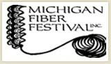 Join us at the Michigan Fiber Festival August 17-19 in Allegan, Michigan! We'll be in booth 163. See you there!