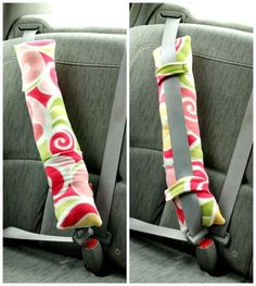 """Seatbelt Pillow Tutorial on So Sew Easy at <a href=""""http://so-sew-easy.com/road-trip-car-pillow/"""" rel=""""nofollow"""" target=""""_blank"""">so-sew-easy.com/...</a>"""