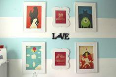 decoracao-quarto-infantil-disney-quadrinhos