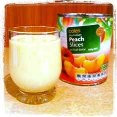Peachy Coconut Smoothie