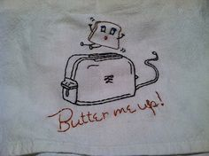 Butter Me Up Vintage Embroidery