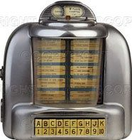 """.Remember tabletop juke boxes?  The best thing about eating at """"the bus stop"""" in Shoals."""