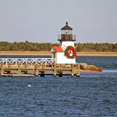 A Christmas at Brant Point Light!!!!