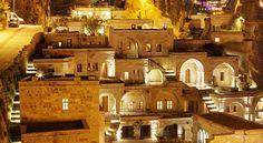"""お城のような洞窟ホテル!トルコ カッパドキアの奇岩を改装した""""アナトリアン・ハウス"""""""