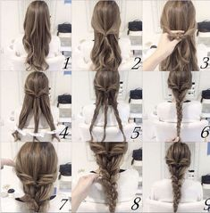 Easy Braids For Long Hair Ideas quick and easy braid hair tutorial hair long hair braids Easy Braids For Long Hair. Here is Easy Braids For Long Hair Ideas for you. Easy Braids For Long Hair 31 cute and easy braids for back to school. Wedding Hairstyles Tutorial, Braided Hairstyles Tutorials, Cool Hairstyles, Braid Tutorials, Hairstyles Pictures, Hairstyle Ideas, Quick Easy Hairstyles, Braided Hairstyles For Long Hair, Long Hair Tutorials