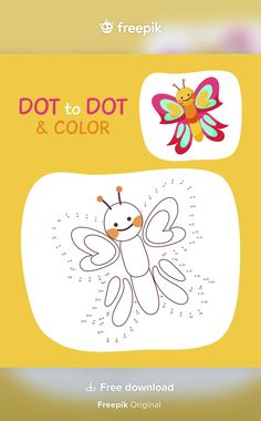 Kid Activities, Worksheets, Vector Free, Dots, Infant Activities, Stitches, Children Activities, Literacy Centers, Petite Section