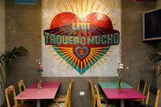 La Fábrica del Taco on Branding Served Porte Menu Restaurant, Taco Restaurant, Decoration Restaurant, Restaurant Branding, Restaurant Ideas, Interior Design Business, Restaurant Interior Design, Business Card Design, Business Cards