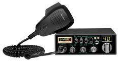 Features:  -Classic CB radio with sound tracker, and nightwatch illuminated front panel.  -7 NOAA weather channels, dynamic, switchable noise blanker.  -Dimmer control, instant channel 9 and 19.  -Aut