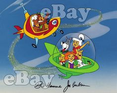 Rare! YOGI BEAR & THE JETSONS Cartoon Color TV Photo HANNA BARBERA Studios   | eBay