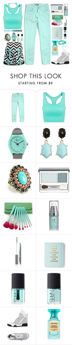 """""""::high tops::"""" by sinesnsingularities ❤ liked on Polyvore featuring Paige Denim, Nixon, Sweet Romance, Clinique, Kate Spade, NARS Cosmetics, ELENA IACHI, Tom Ford, Urbanears and Kenzo"""