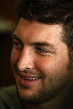 Tim Tebow beautiful even up close