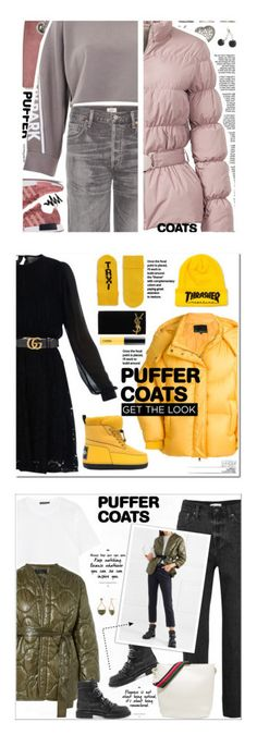 """""""Winners for Stay Warm: Puffer Coats"""" by polyvore ❤ liked on Polyvore featuring TIBI, Citizens of Humanity, Elizabeth Roberts, Alexander Wang, Ivy Park, Pearls Before Swine, puffercoats, MICHAEL Michael Kors, Chen Peng and Kenzo"""