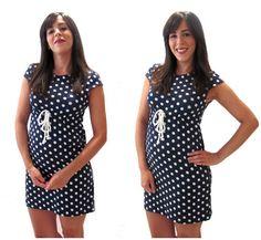 Tutorial paso a paso para hacer un vestido DIY a partir de una camiseta sin necesidad de patrón. ¡Entra y hazlo tu misma¡ ¡Verás que fácil!