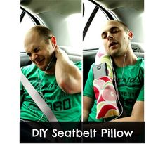 Craft Gossip - http://sewing.craftgossip.com/tutorial-seatbelt-pillow-with-a-pocket/2015/04/09/