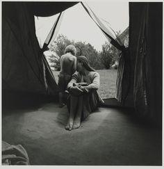 Emmet Gowin, American, born 1941. Edith and Elijah, Danville, Virginia, 1971