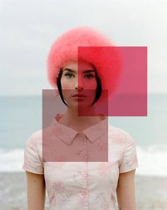 pink squares - fashion photography | summer . Sommer . été |