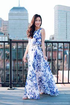 Eliza j petite floral maxi dress3
