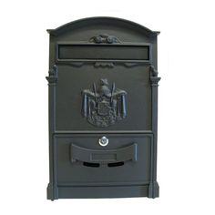 Fine Art Lighting Vault Wall Mounted Mailbox & Reviews   Wayfair Victorian Mailboxes, Rustic Mailboxes, Fine Art Lighting, Lighting Sale, Wall Mount Mailbox, Mounted Mailbox, Post Box Wall Mounted, Large Mailbox, Gibraltar Mailboxes