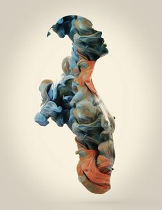 Amazing ink manipulations by Alberto Seveso