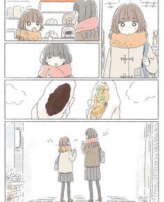 Girly Drawings, Pretty Drawings, Cartoon Drawings, Manga Anime, Sad Anime, Chibi Couple, Anime Love Couple, Japanese Illustration, Cute Comics