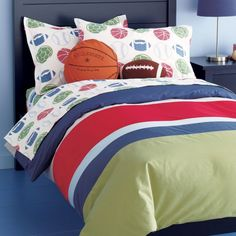 My World Classic Sports Quilt Set Reviews Wayfair Boys - Boys sports bedding sets twin